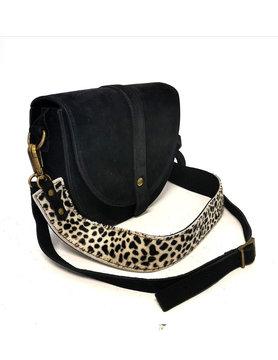 Suède shoulderbag Cheetah