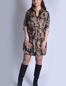 Dress |Floral 62016 Black
