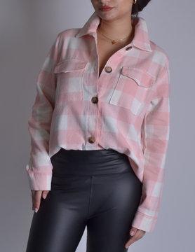 Overhemd  Ruit 62015 Roze