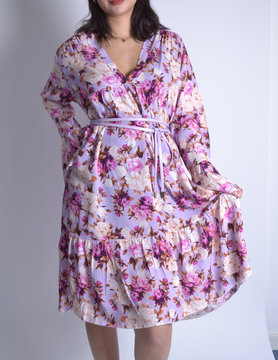 Dress |Floral 62020 Lilac