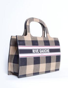 Nubuck handbag - mini