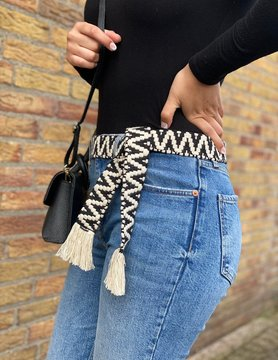 Handmade cotton belt