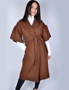 Coat   61086 brown