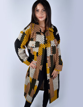 Coat   62117 yellow