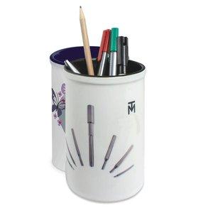 Pennenpot keramiek met logo