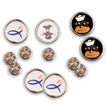 Pins rond 18 mm