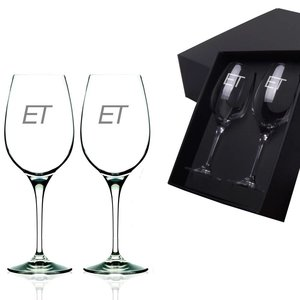 Wijnglazen cadeau set Da vinci