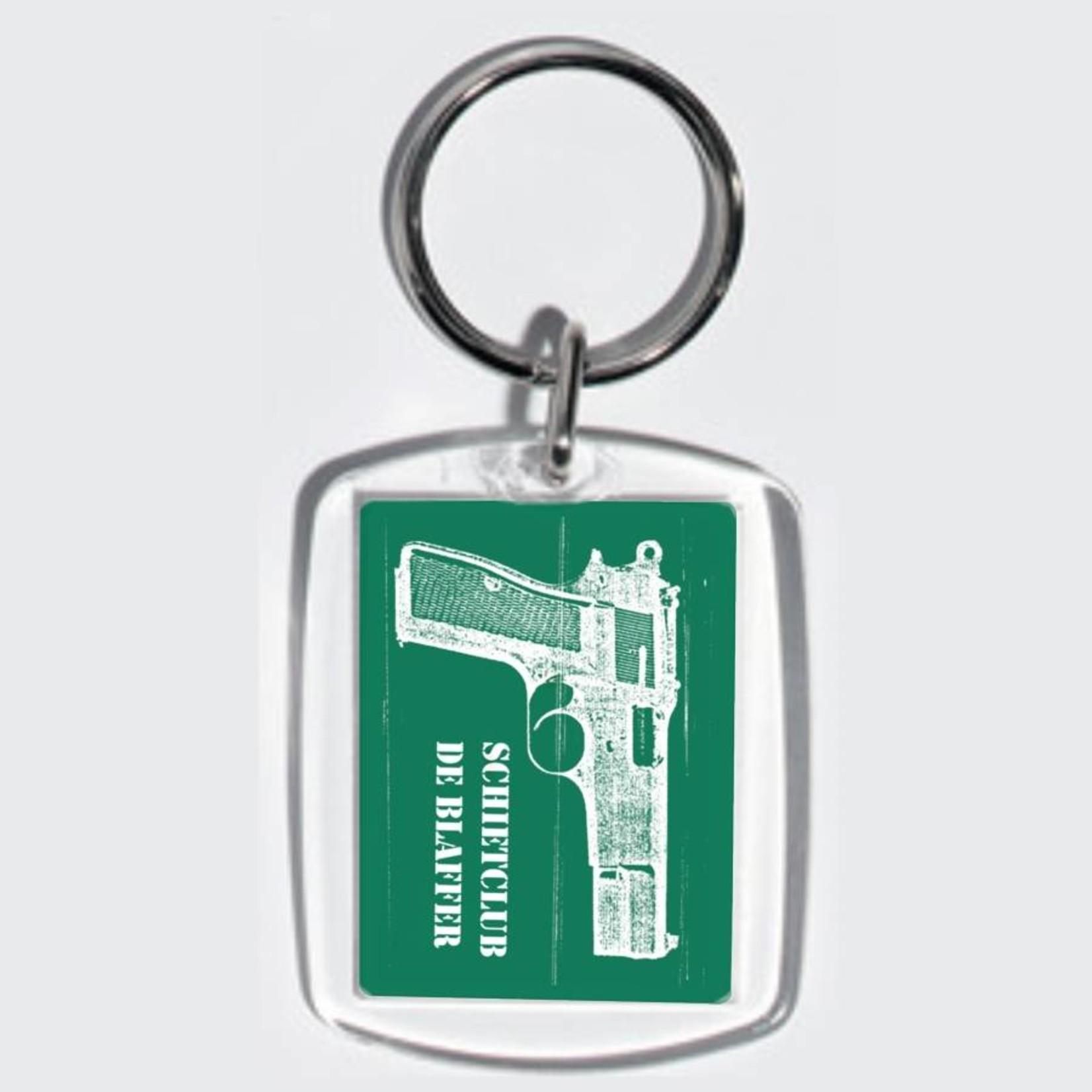 Porte-clés transparent