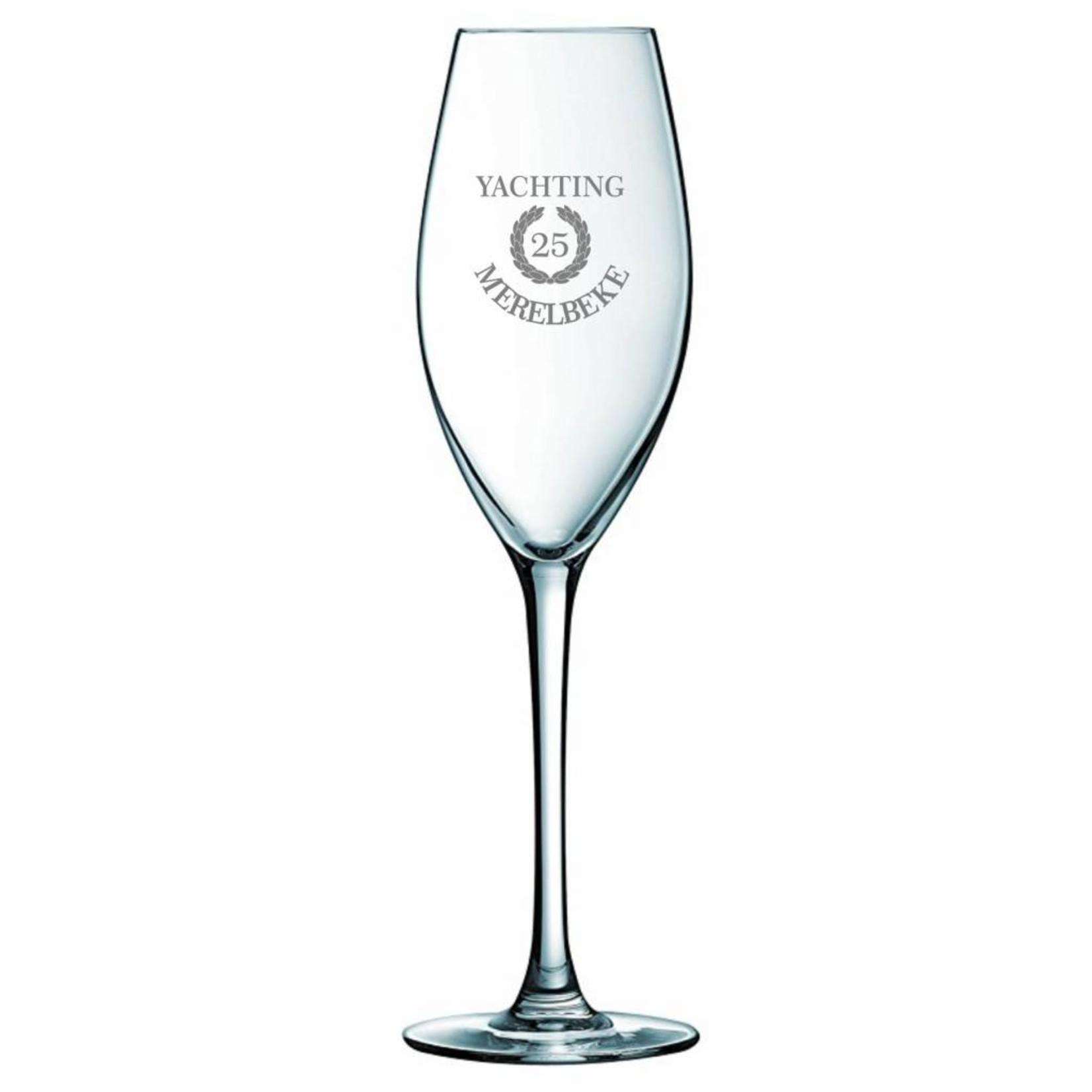 Flûte à champagne Vinci personnalisé