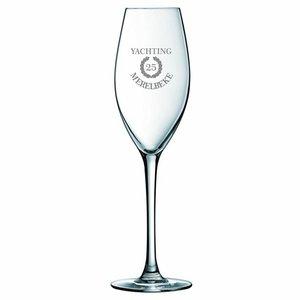 Champagneglas Vinci met gravering