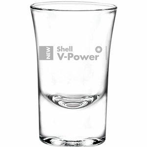 Shot glaasje met gravering logo