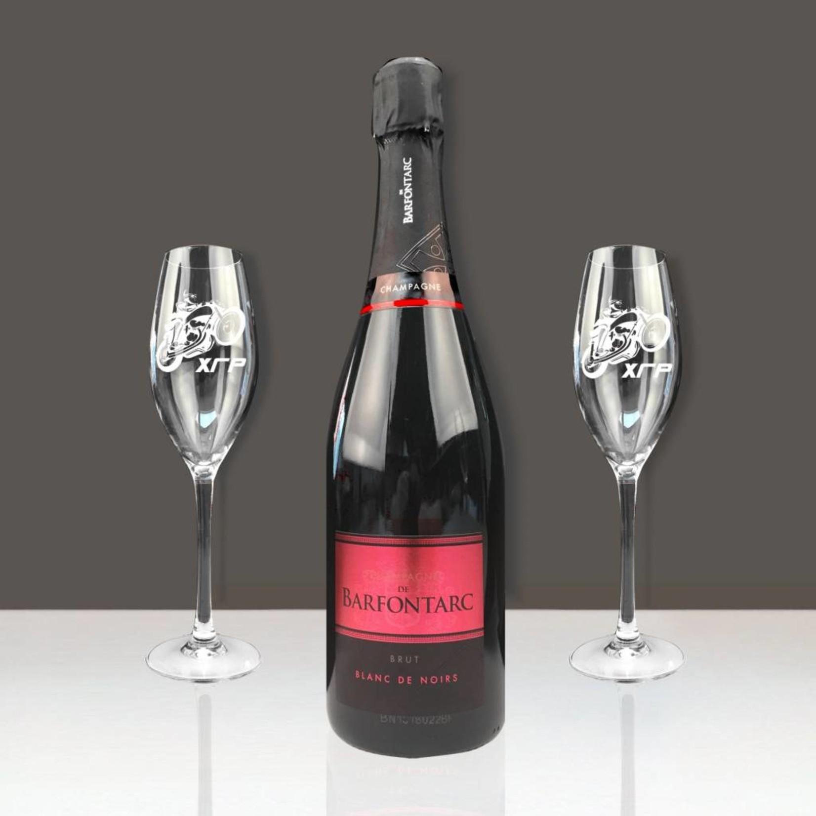 Champagne Cadeau set Givalux