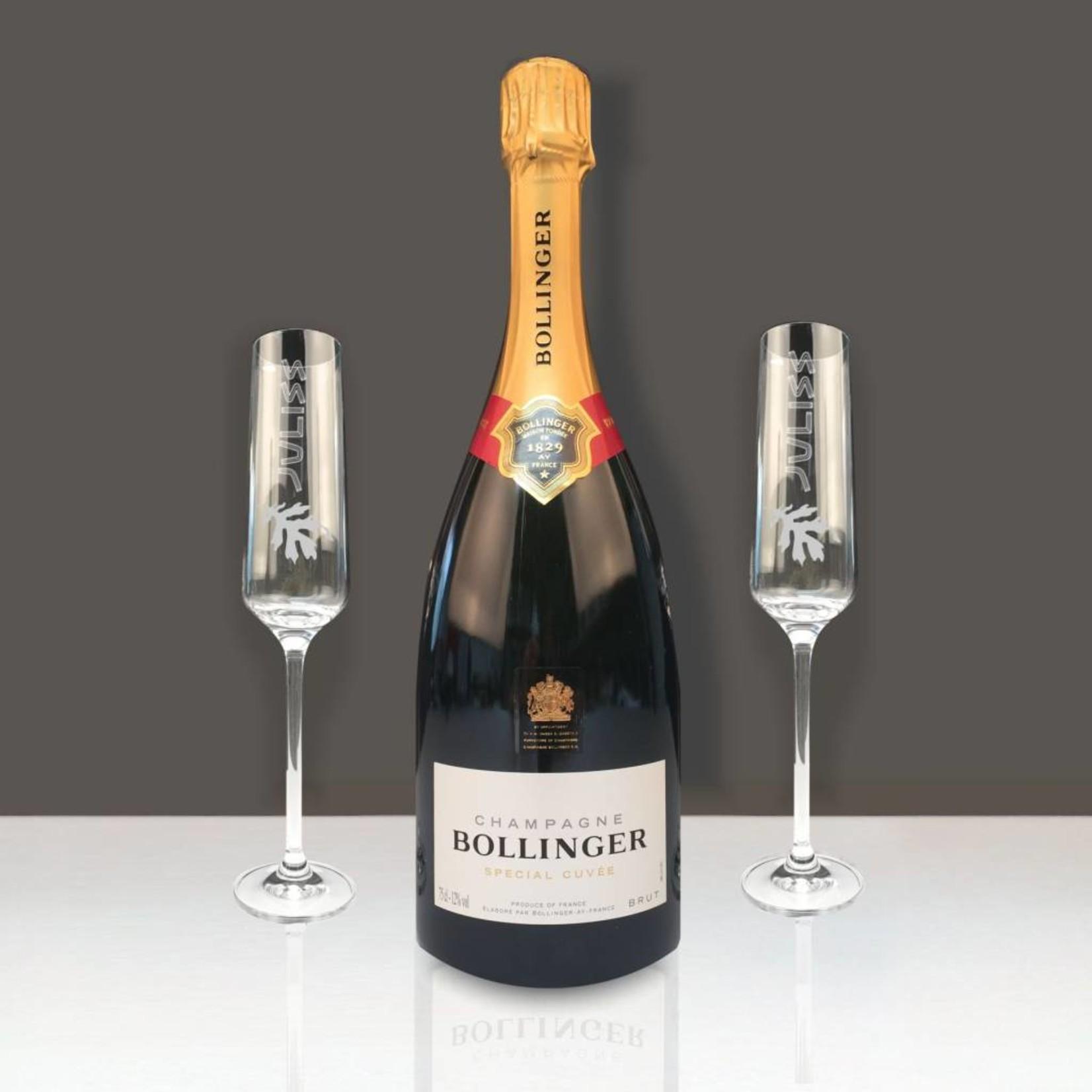 Champagne Geschenk Set Bollinger