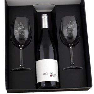Coffret cadeau vin blanc