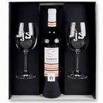 Rode wijn cadeau set Le cave