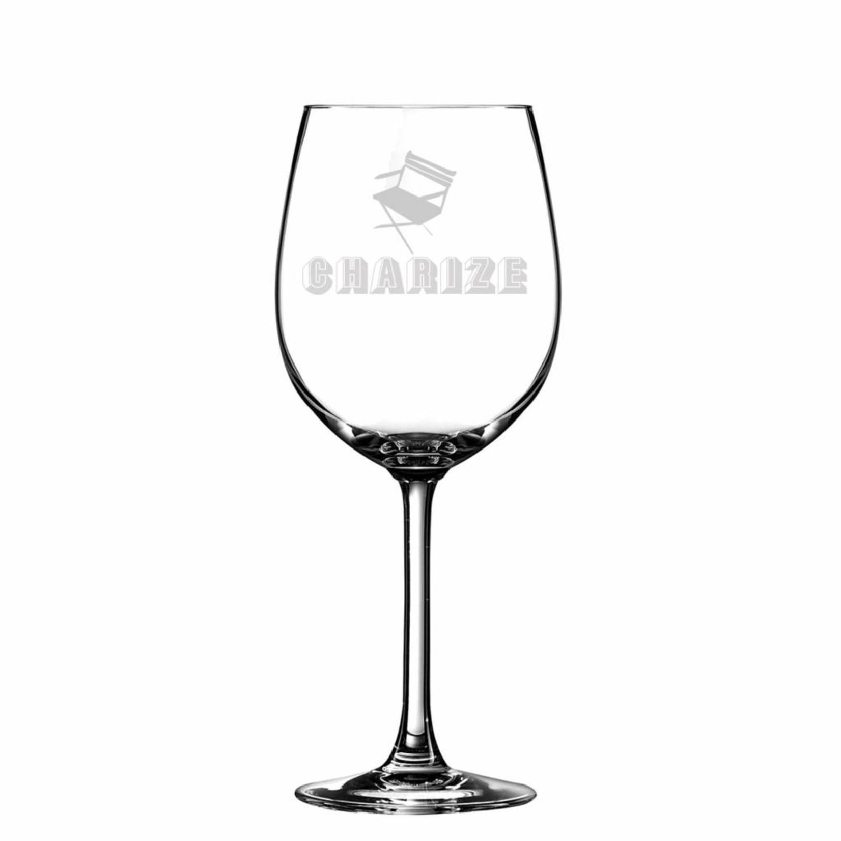 Wijnglas Lana met logo gravering