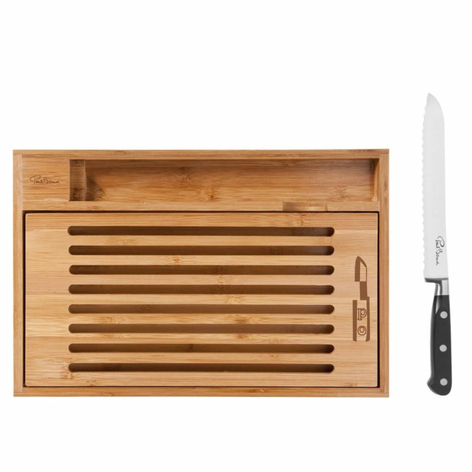 Paul Bocuse Planche à découper avec couteau à pain