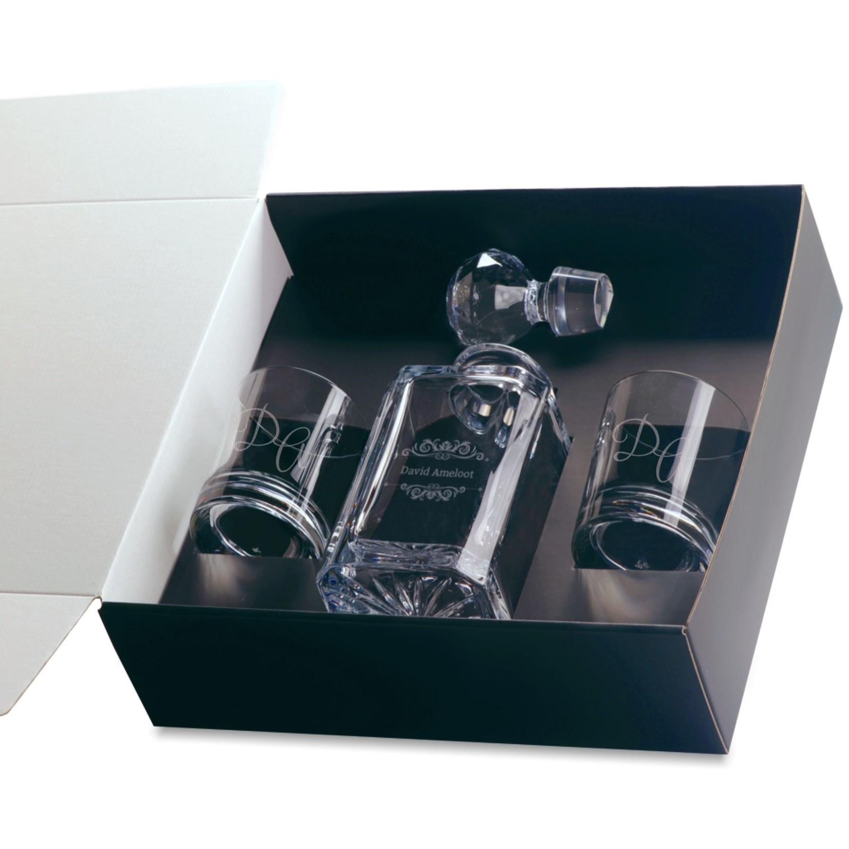 RCR Crystal Whisky Geschenk Set Kristal