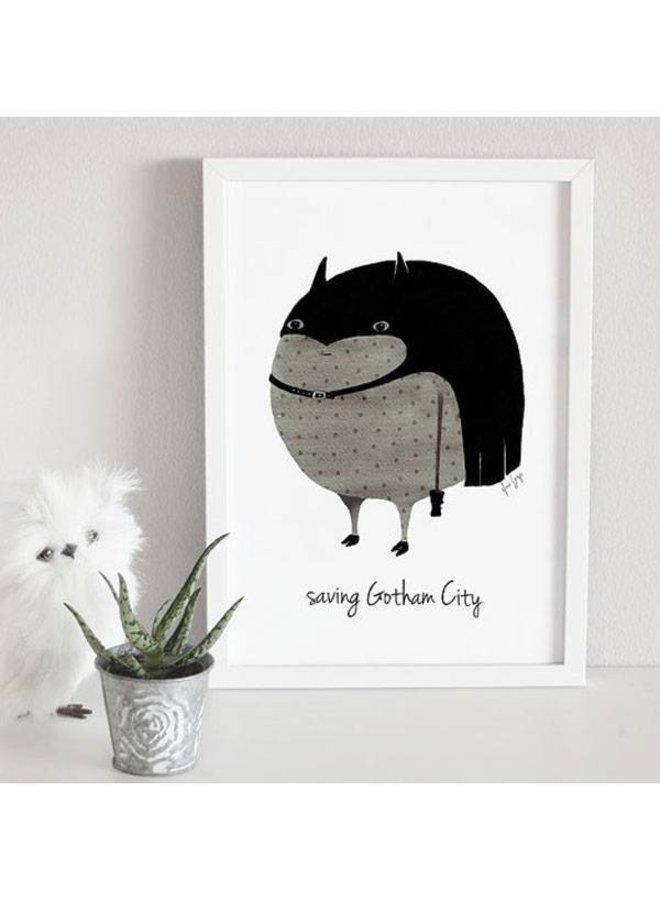 poster batman save gotham city