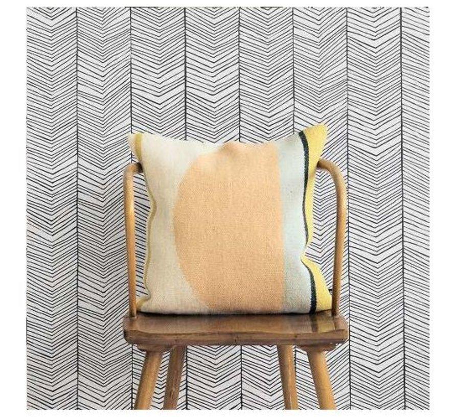 Herringbone behang #167
