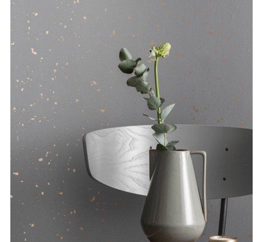 patroon behang Confetti Grey