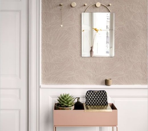 Scandinavian living room styling