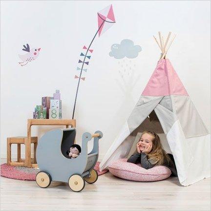 Scandinavische kinderkamer inrichten