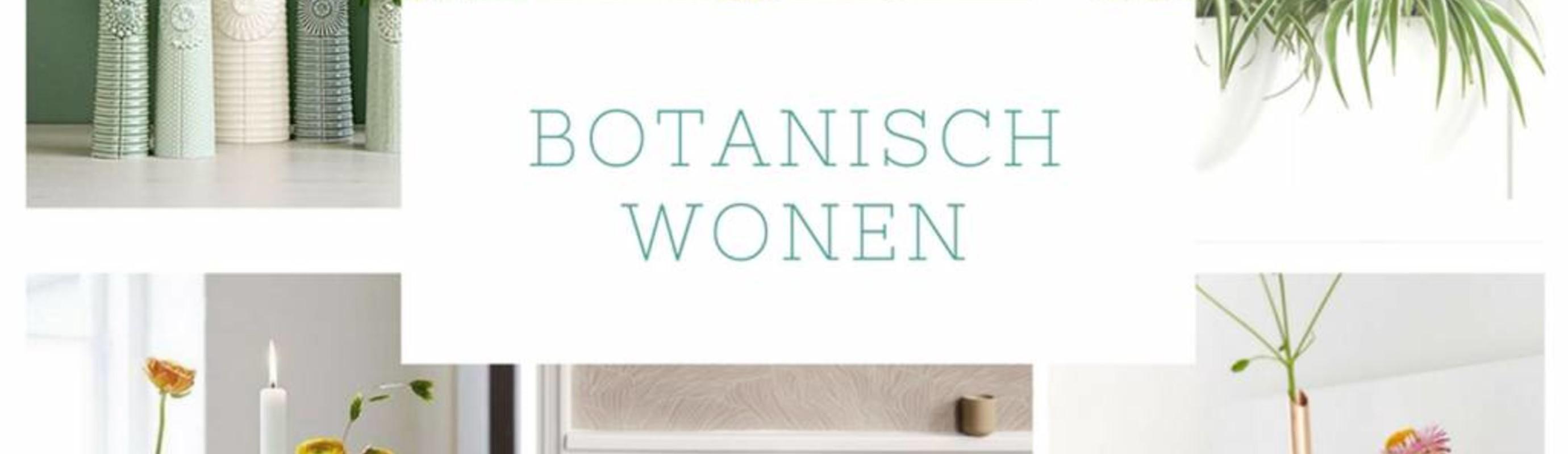 Botanische trend past heel goed bij Scandinavisch wonen