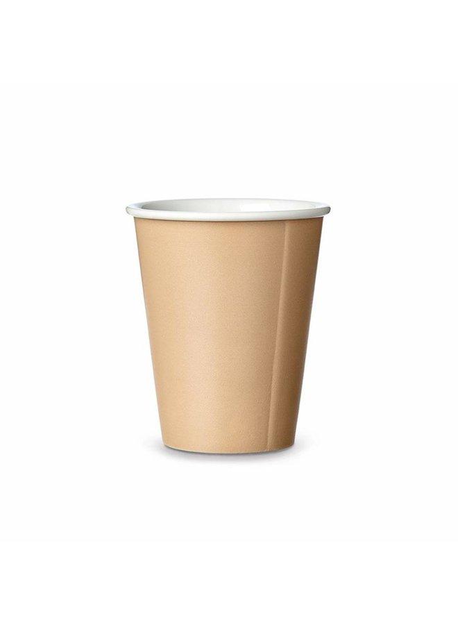 keramiek koffiebeker zand