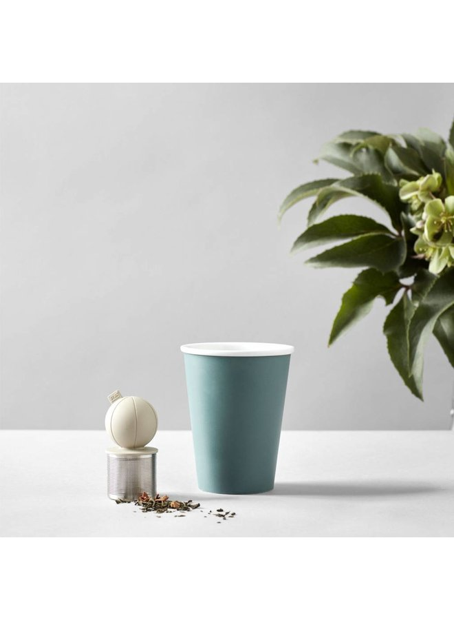 Infusion floating tea infuser sand/beige