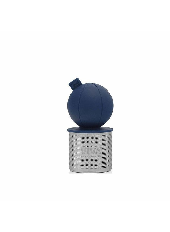 floating tea infuser blue