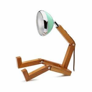Mr Wattson lamp met mint lampenkap