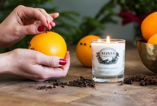 Take care of your home and your skin with Klinta scented candles!