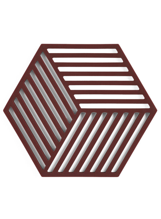 hexagonal raisin color coaster Hexagon
