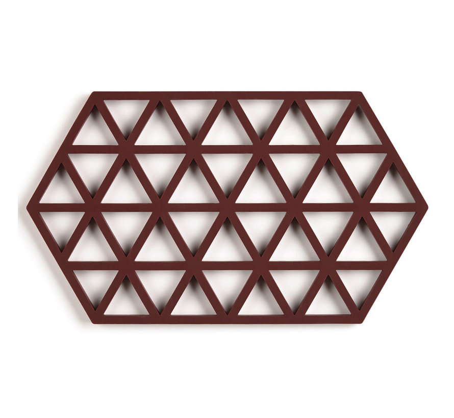 hexagonal raisin color coaster
