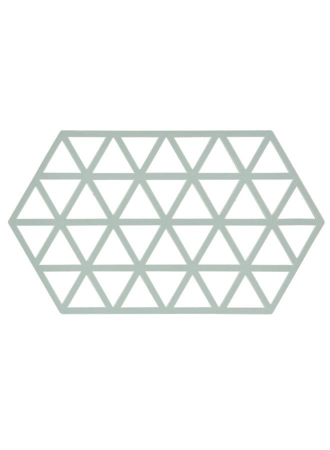 Zone Denmark hexagonal silicone pan coaster nordic sky