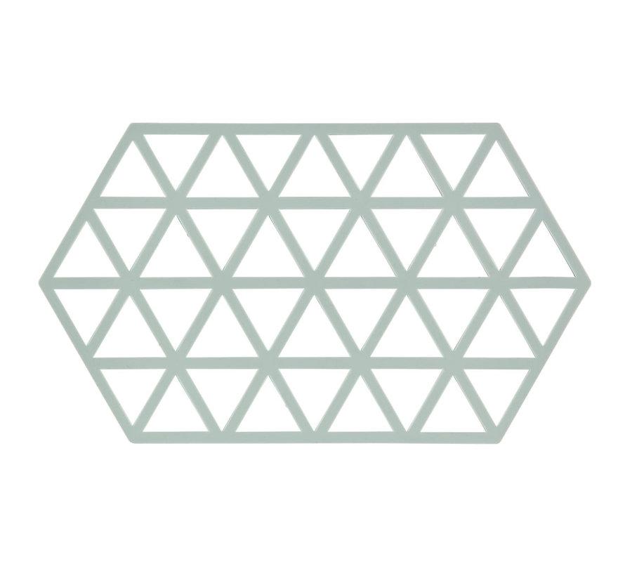 hexagonal coaster nordic sky