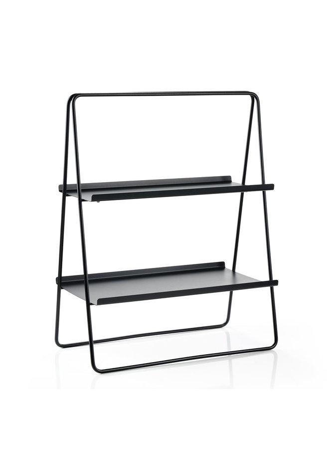 Ablagetisch A-Tisch aus schwarzem Metall