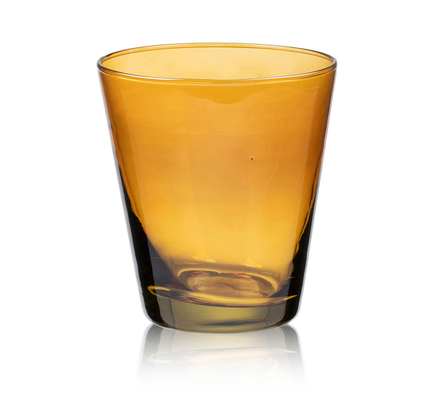 30 cl water glass in amber
