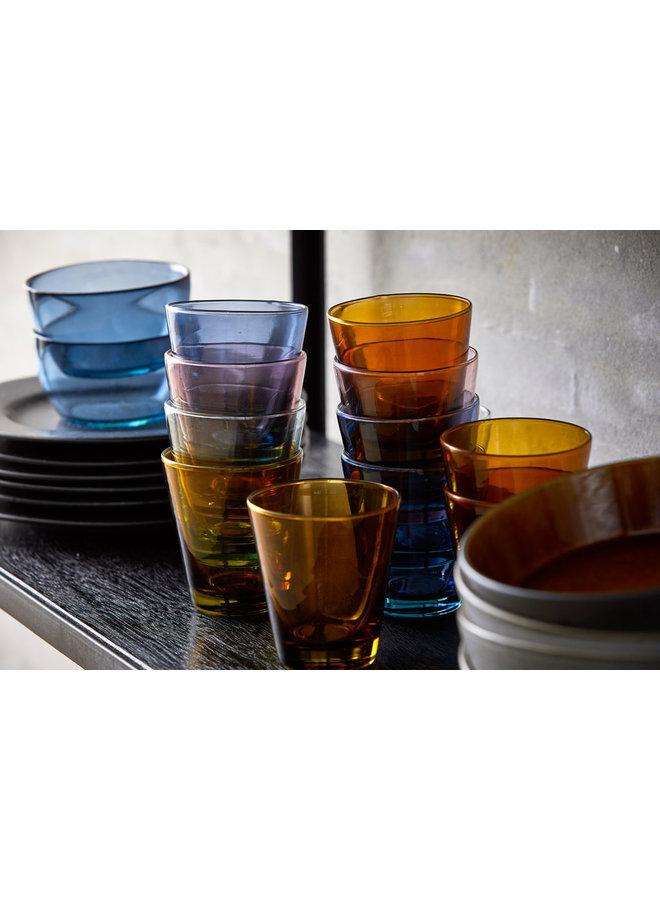 Bitz 30 cl waterglas in amber