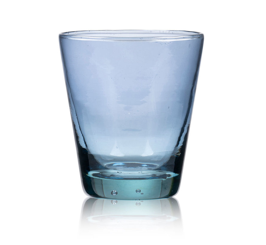 30 cl water glass in blue