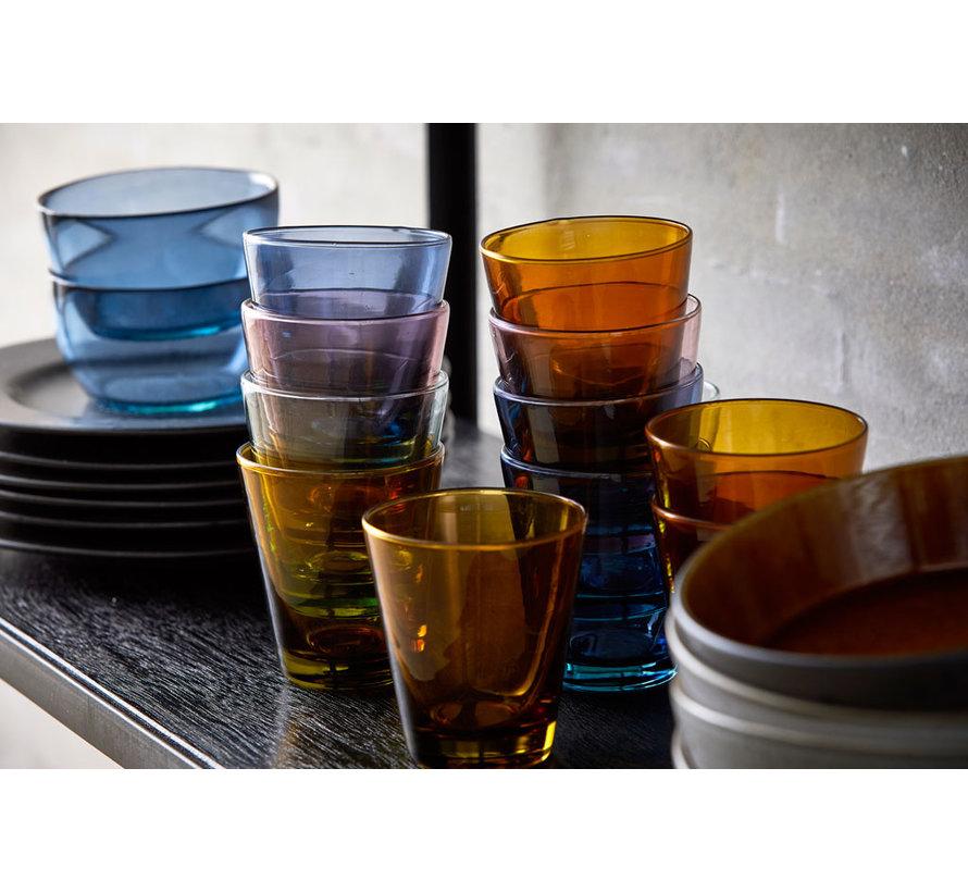 30 cl waterglas in blauw