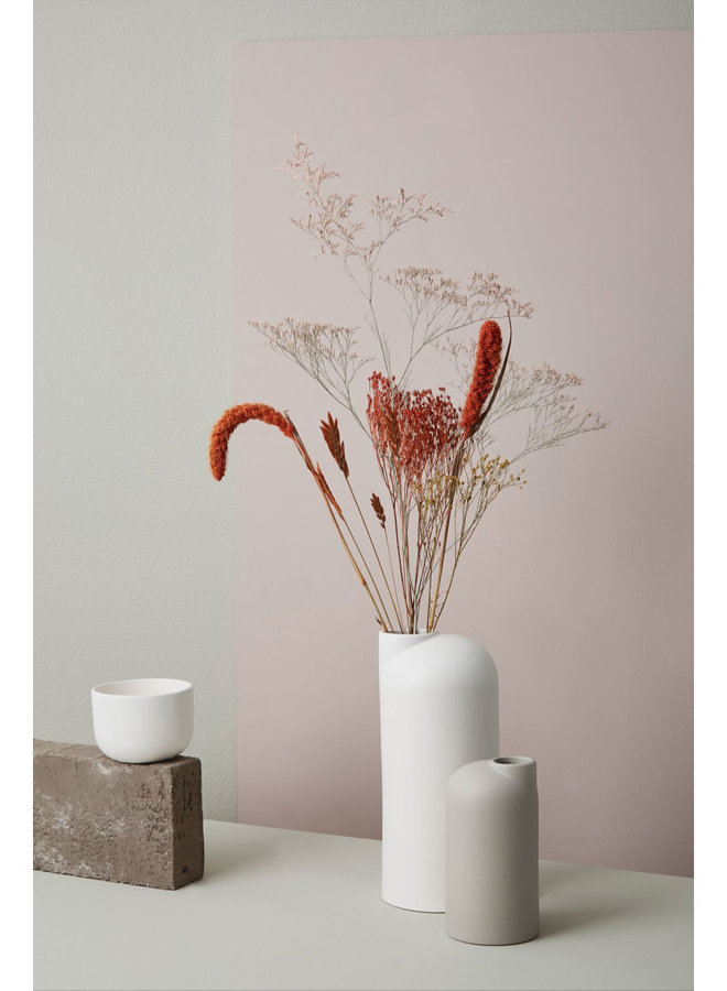 Oohhx white ceramic vase Anna large