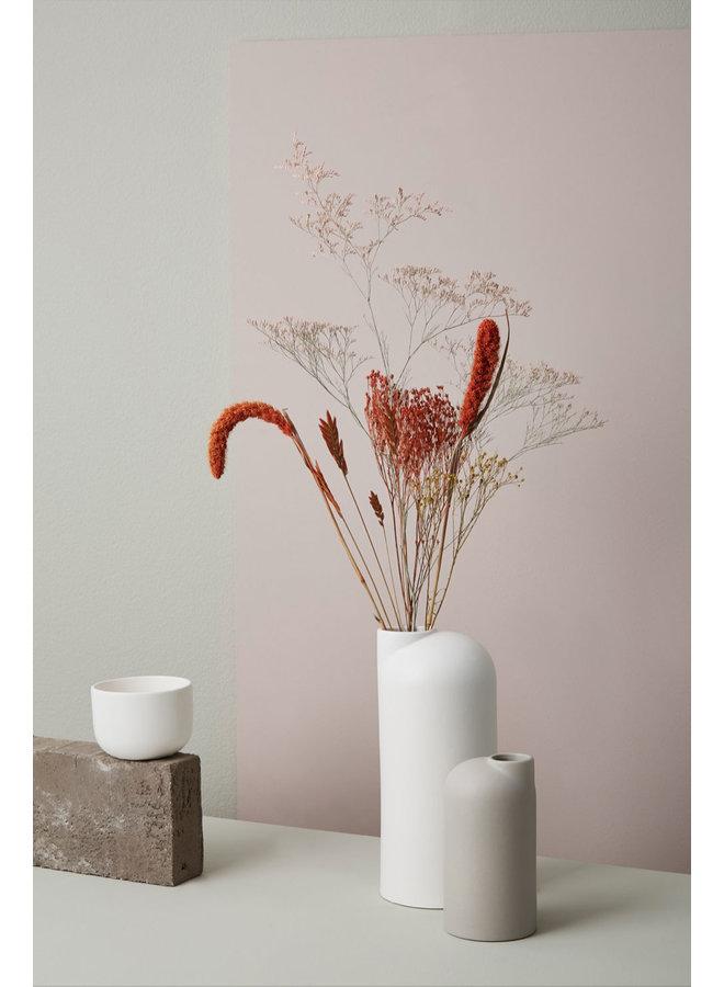 weiße Keramikvase Anna groß