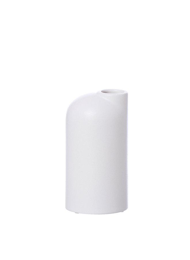 Oohhx white ceramic vase Anna small
