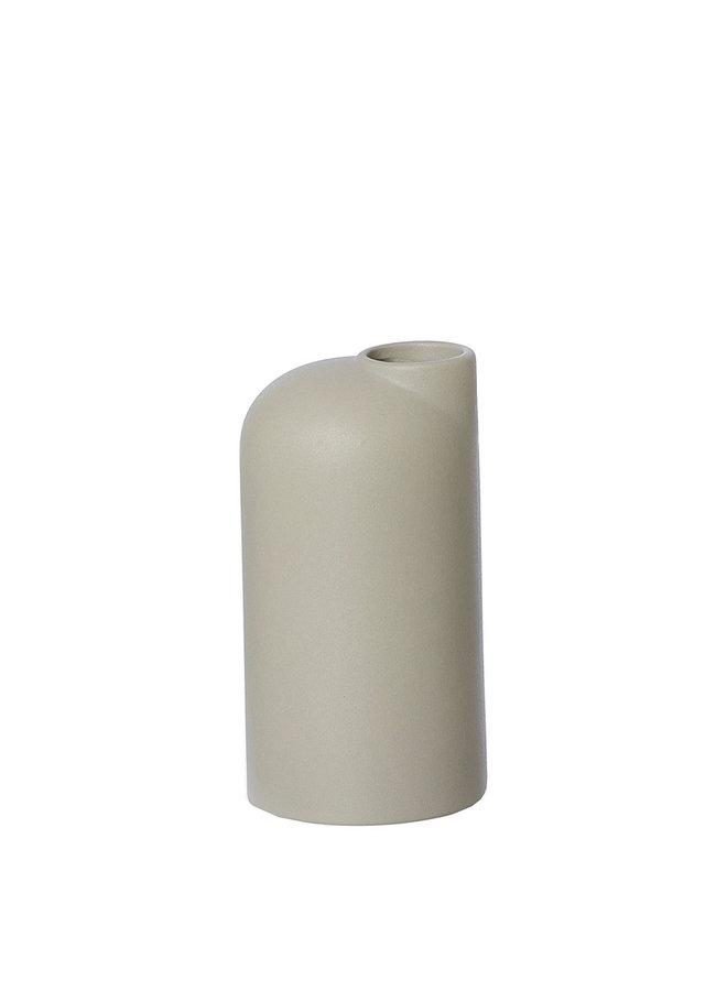Oohhx beige/sand ceramic vase Anna small
