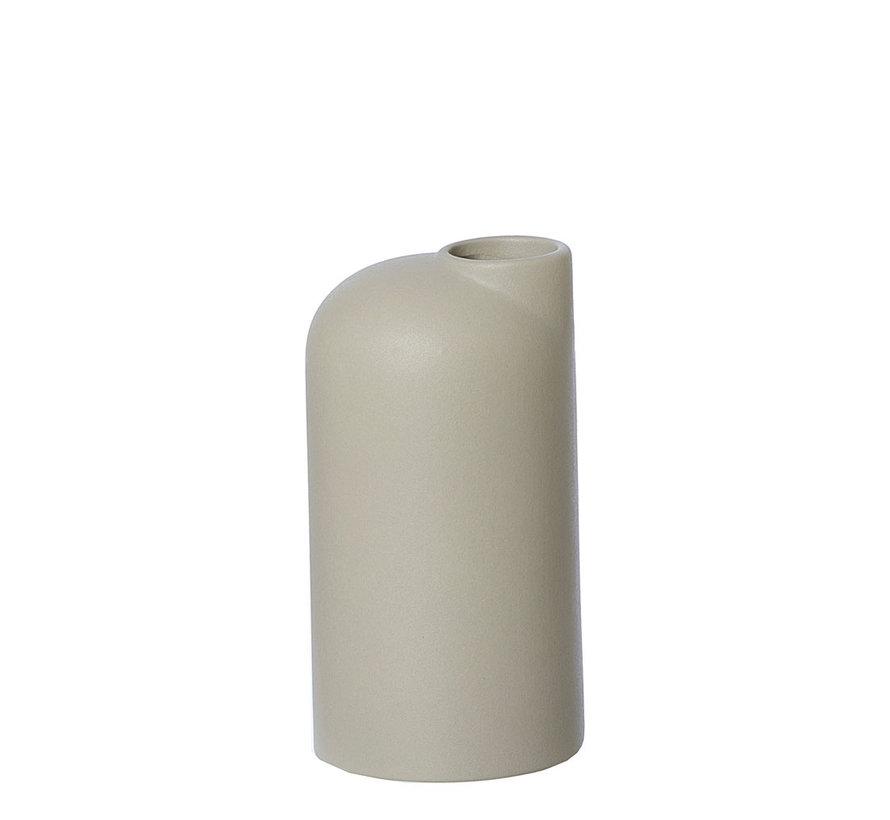 beige/sand ceramic vase Anna small