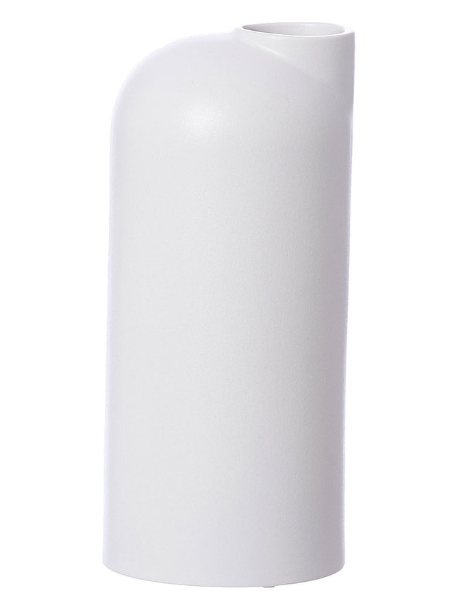 white ceramic vase Anna large