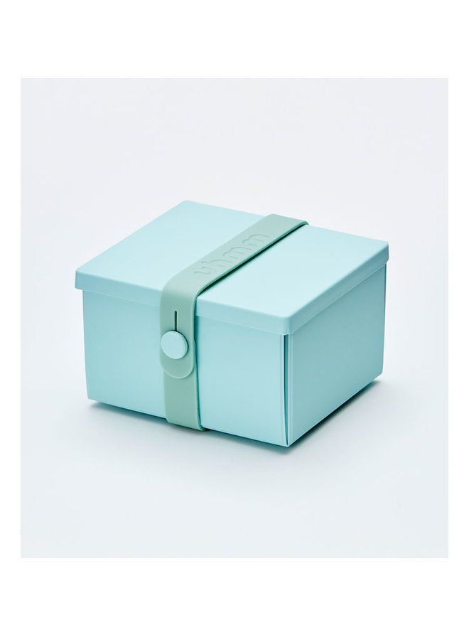 lunch box 02 in mint green with mint strap