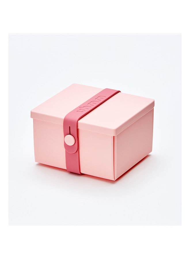lunchbox 02 in rose met rose strap